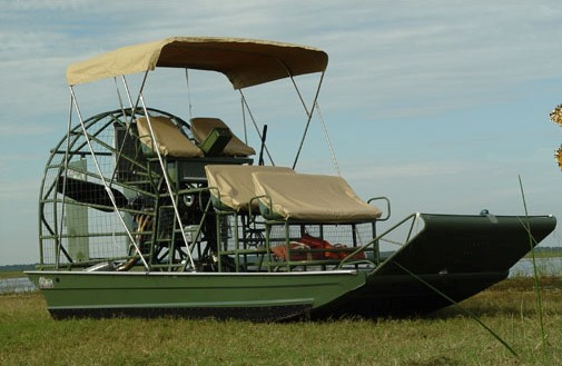 game conservation boat