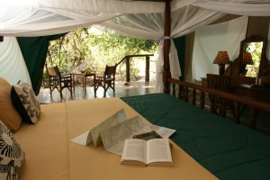 Tent at Gombe Forest Lodge