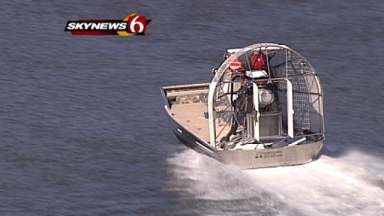 Tulsa County Sheriff's Office rescue airboat