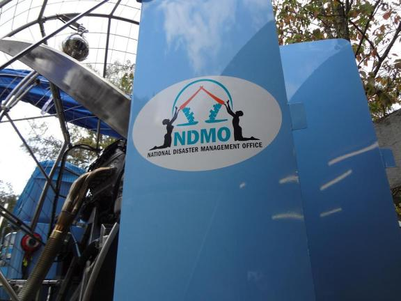 NDMO airboats - rudders