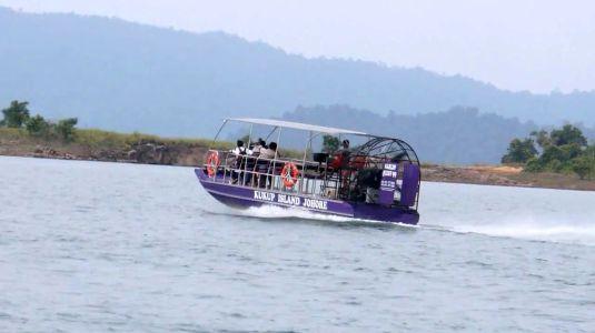 Kukup Island airboat