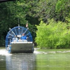 airboat rides combine history & recreation