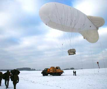 airborne industries parachute training balloon