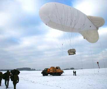 airborne industries parachute training balloon