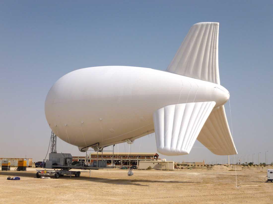 airborne industries tethered aerostat