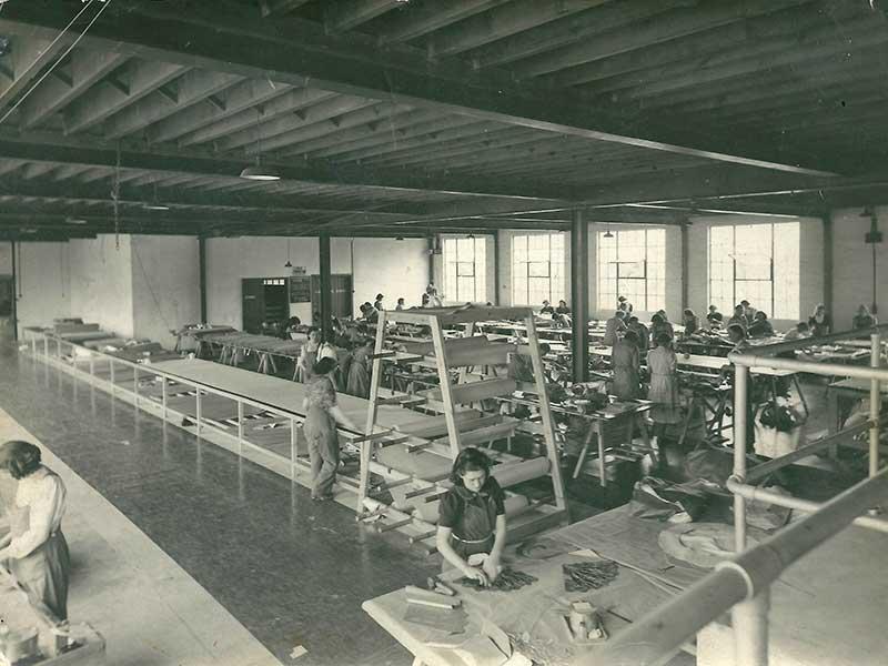 airborne industries factory