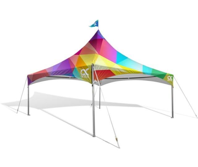 Custom Canopy Tent Full Color Print
