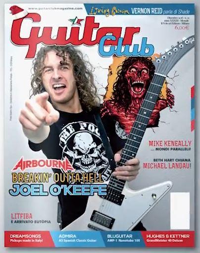 guitar club magazine foto
