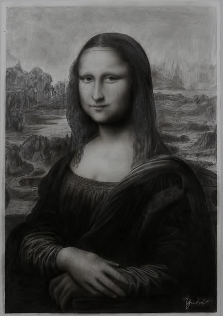 鉛筆画『モナリザ』