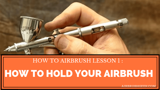 how to airbrush lesson 1