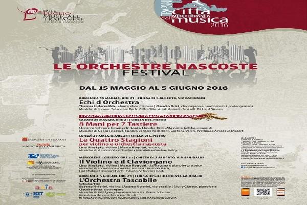 LE ORCHESTRE NASCOSTE FESTIVAL 2016