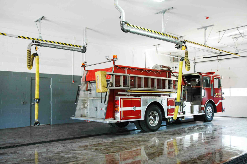 fire station vehicle exhaust removal