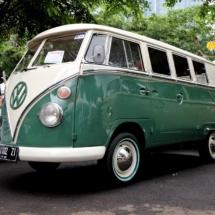 minggu volkswagen 4 - air cooled syndicate - best vw split bus in the event