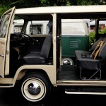 minggu volkswagen 4 - air cooled syndicate - double door sliding bus