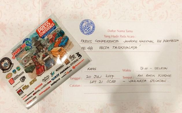 Menuju Jambore Nasional Volkswagen Indonesia ke-48