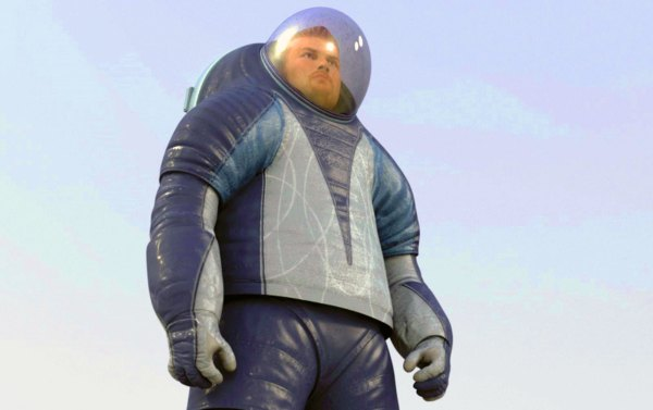 NASA Mars Space Suit Unveiled as Voted for by the Public ...