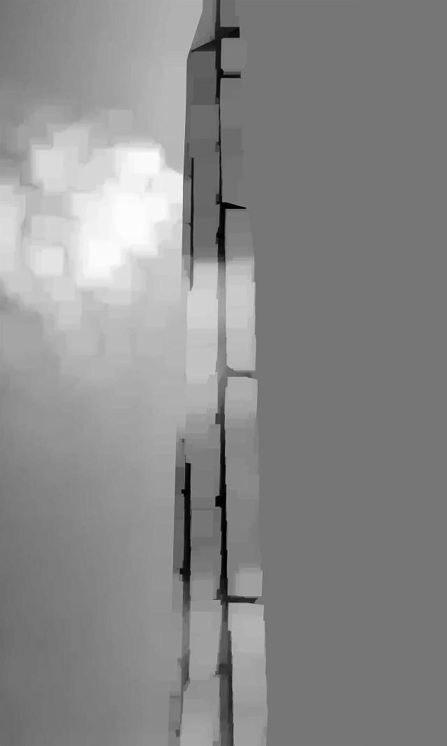 URSA SCHÖPPER - kunstkathedrale - 2014 - aludibond - unikat - 50x30cm