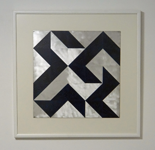 DANINO BOZIC - 25 squares - metal,laquer - 50x50cm - 2005
