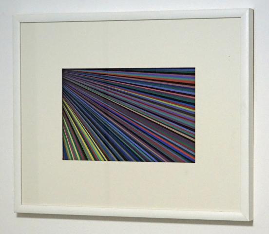 DANINO BOZIC - ONEWAY DIRECTION - acryl/paper - 49,5x62cm - 2010