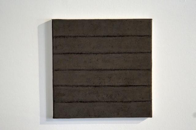 HASSO VON HENNINGES - grau j - pastellkreide/bütten - 30x30cm - 2015