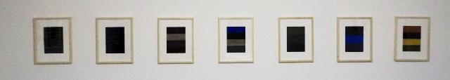HASSO VON HENNINGES - aus der serie 18 x graubunt - pastellkreide/bütten - 2005-2015