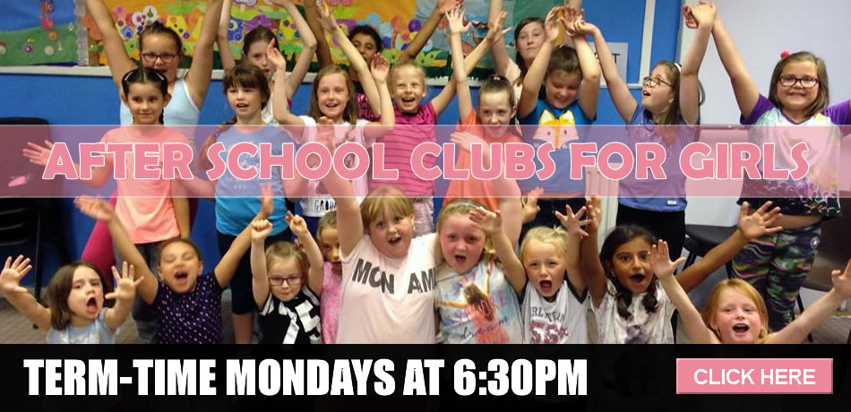 After school clubs for girls in Airdrie