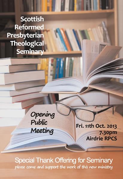 Seminary poster