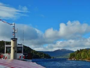 Ship at Loch Katrine
