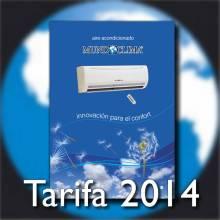 Tarifa Mundoclima 2014 / 2015