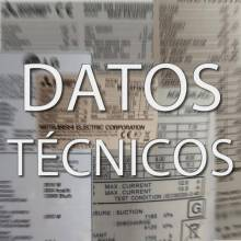 DATOS TÉCNICOS AIRE ACONDICIONADO