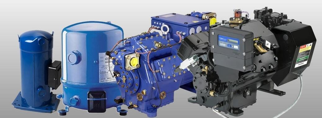 Tipos de compresores de aire acondicionado for Consola de tipo industrial