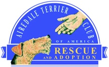 Airedale Terrier Club of America Rescue and Adoption Logo
