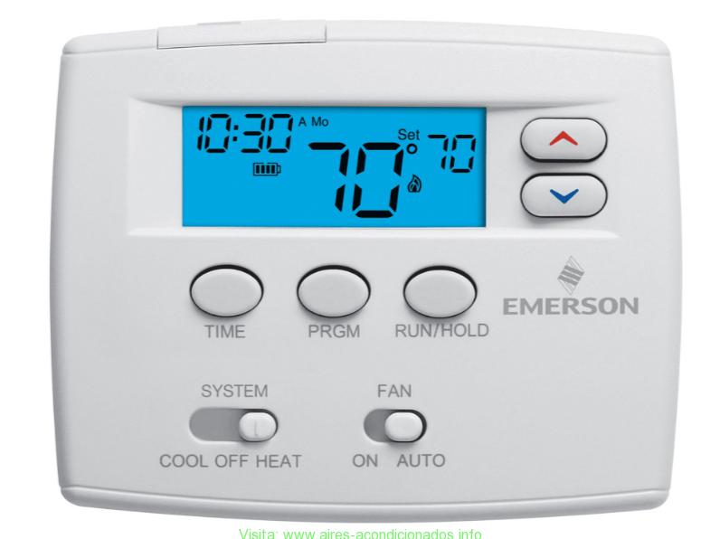 Como conectar el termostato aires acondicionados - Termostato frio calor ...