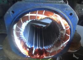 rebobinar un motor