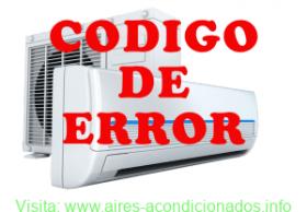 Código de error