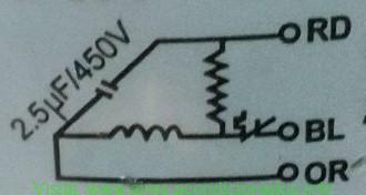 Diagrama electrico motor ventilador condensador, Como conectar motor ventilador del condensador