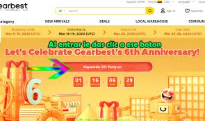 Cupón de regalo de tienda online