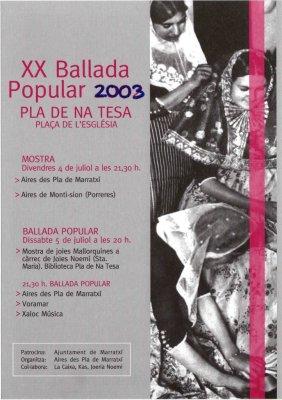 XX Ballada Popular