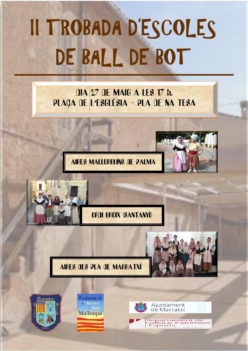 II Trobada d'escoles de ball de bot a Marratxí