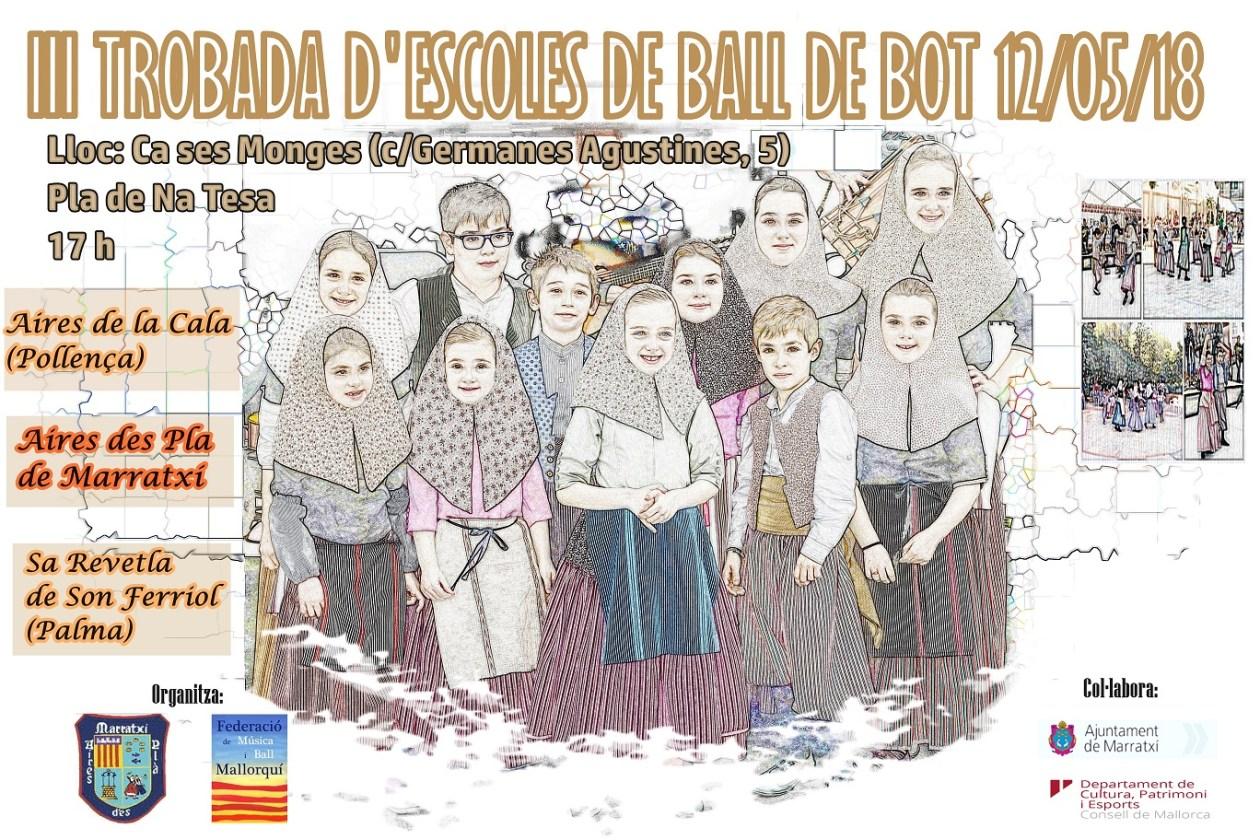 III Trobada d'escoles de ball de bot a Marratxí