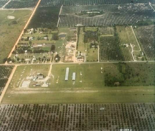 Abandoned Aircraft Orlando Florida