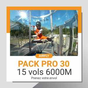 Billet cadeau soufflerie Airfly pack PRO 30