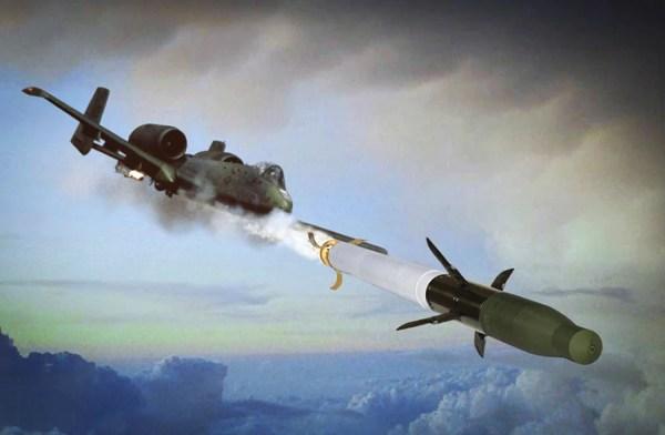 USAF's A-10 aircraft conducts first test firing of APKWS ...