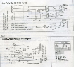 Carrier Low Profile Ac Wiring Diagram  Photo Gallery