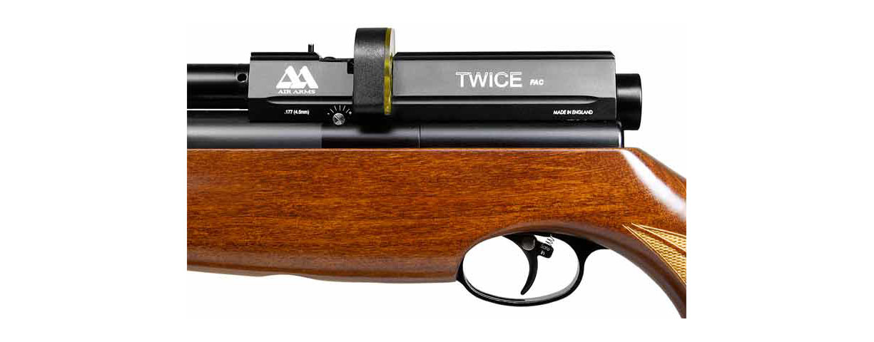 Air Arms S510 TC (Twin Cylinder) PCP airgun - Side Lever