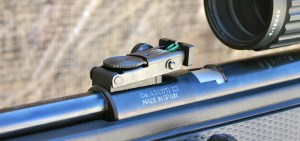 Gamo CFR Whisper - Fully Adjustable Rear Fiber Optic Sight