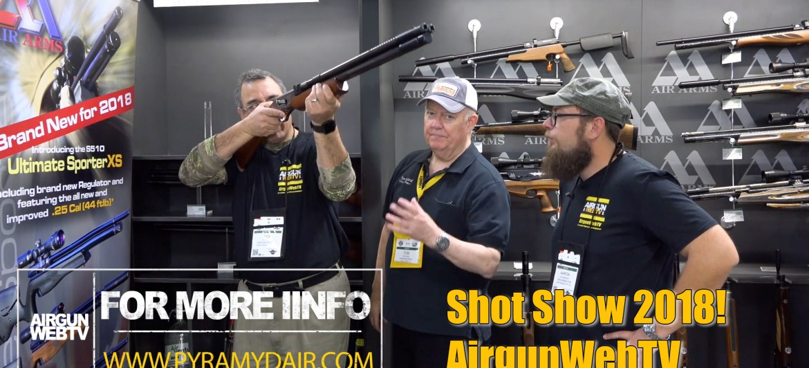 Air Venturi at Shot Show 2018