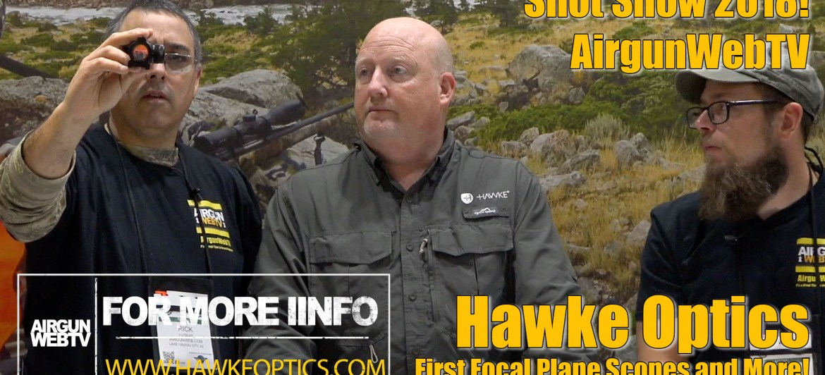 Hawke Optics at Shot Show 2018