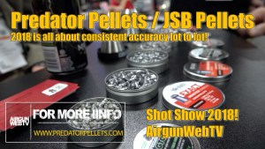 Predator Pellets at Shot Show 2018