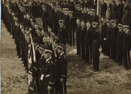 Opening of the first Squadron, at Manly NSW